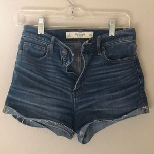 Abercrombie and Fitch high waisted shorts 2 small